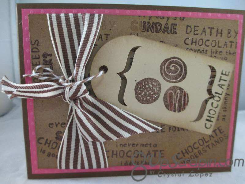 CTMH card chocolate 003