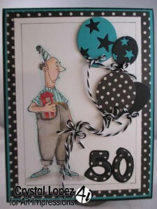 Happy 50th Birthday card