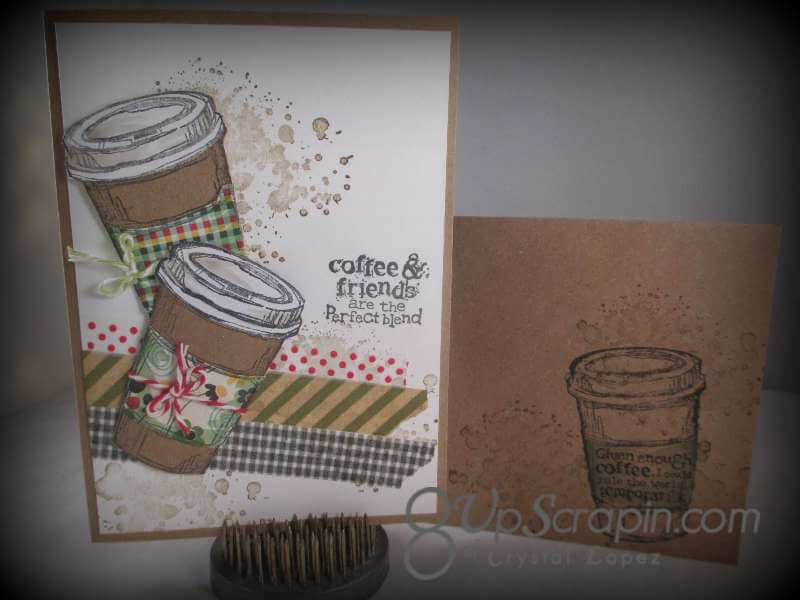 Owl card and Perfect Blend card 005