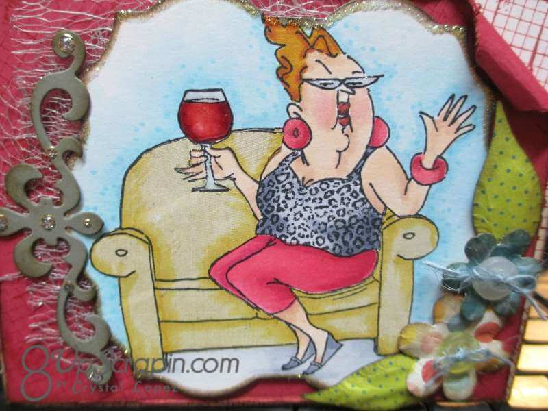 wine lady with buttons 007