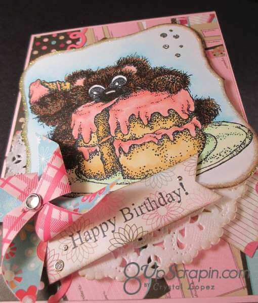 Birthday Shy Bear 004