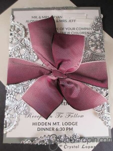 Wedding Invites by Crystal