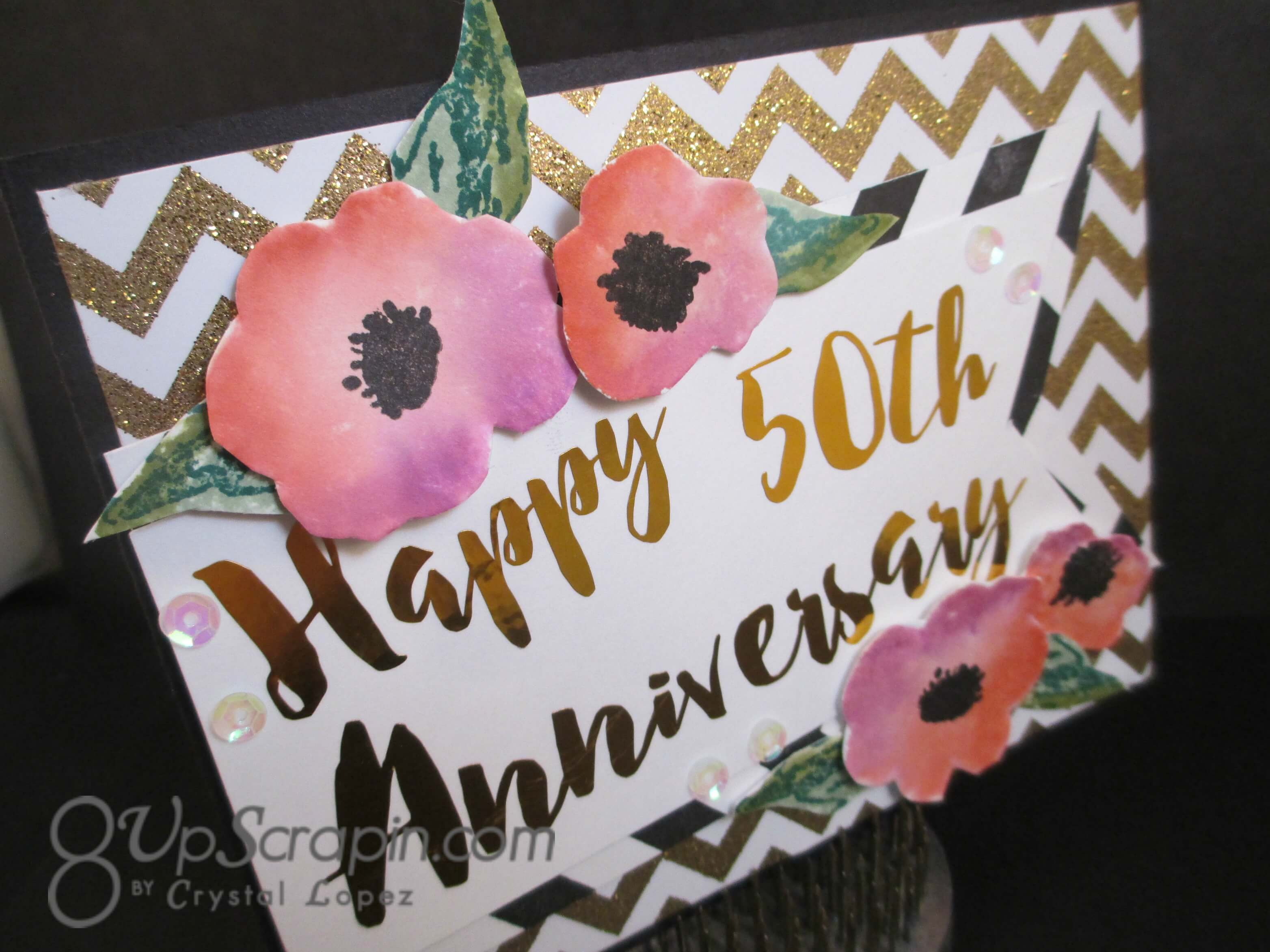 flowers for wedding anniversary happy anniversary card 4268