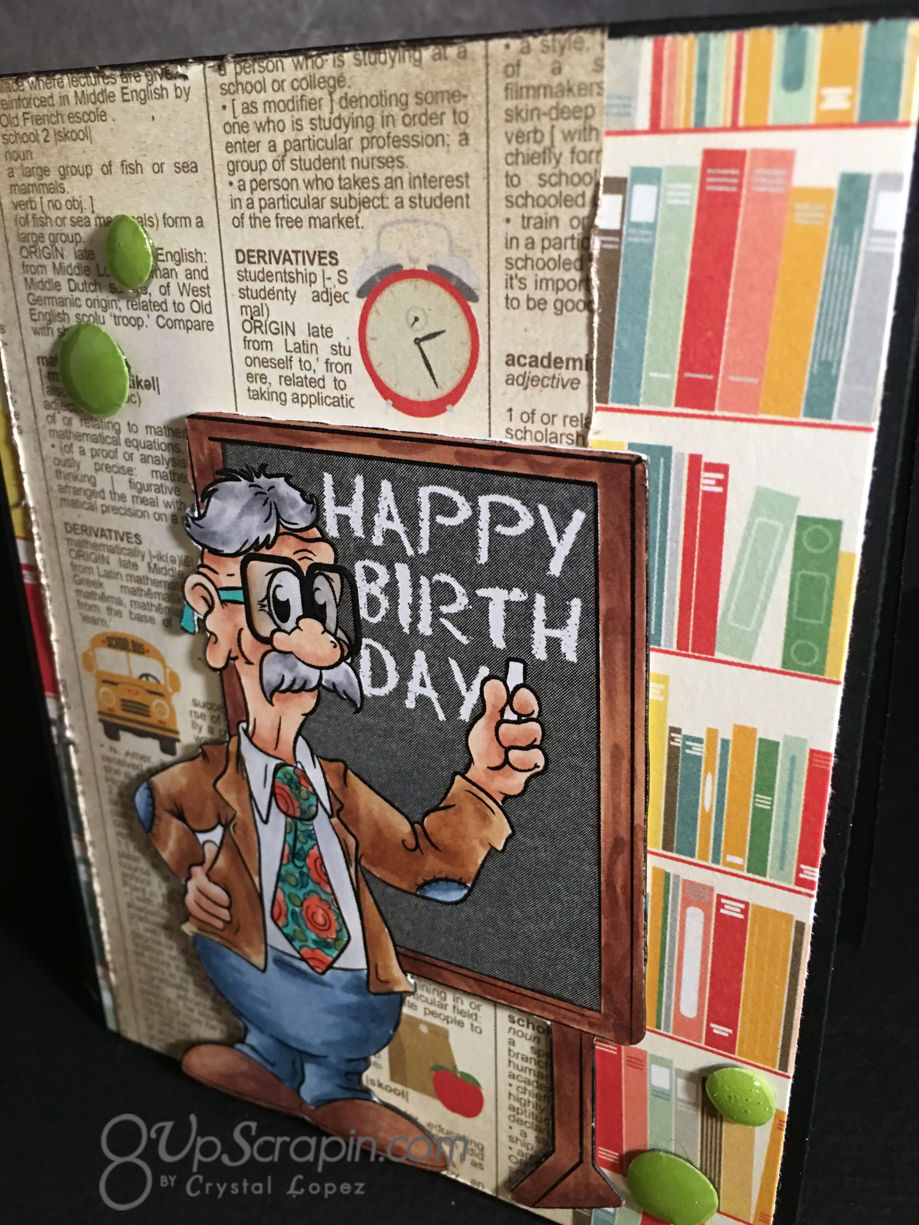 Enjoyable Happy Birthday Teacher Personalised Birthday Cards Paralily Jamesorg